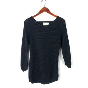Anthro Coincidence & Chance sweater crochet knit